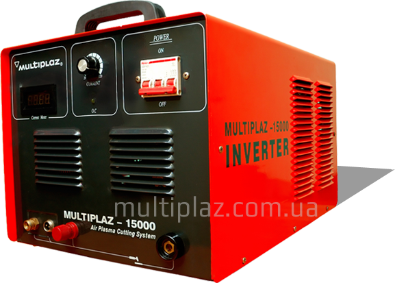Multiplaz 15000 (15 KW) air-plasma cutter